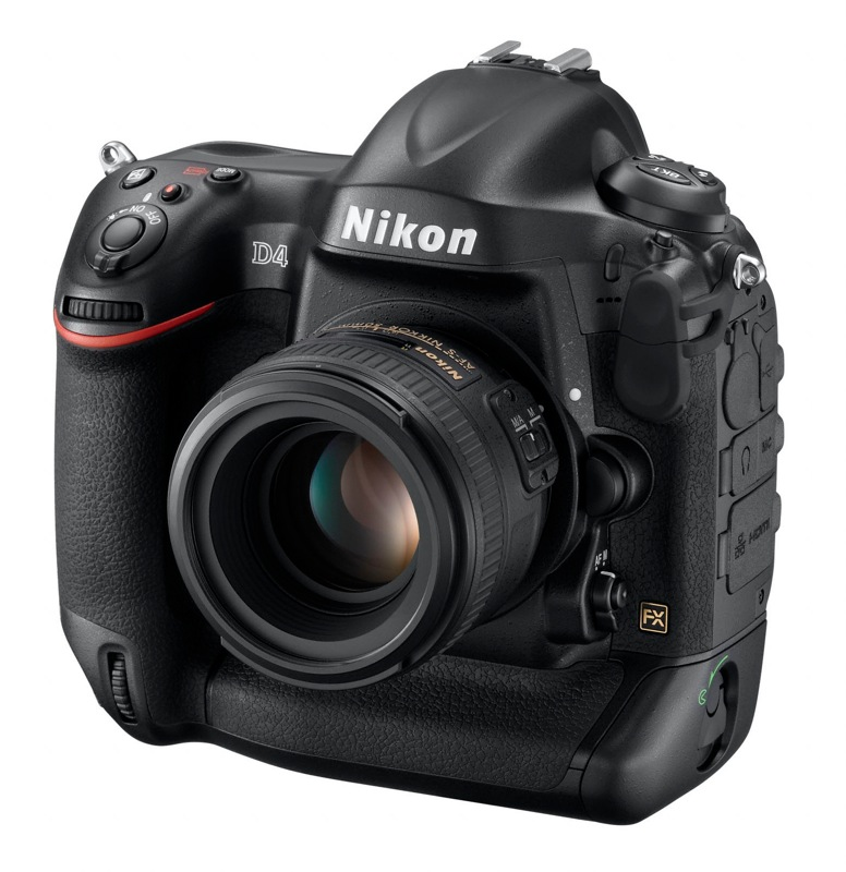 Nikon D4 Full-Frame Pro DSLR Formally Introduced: 16.2MP Sensor and ...