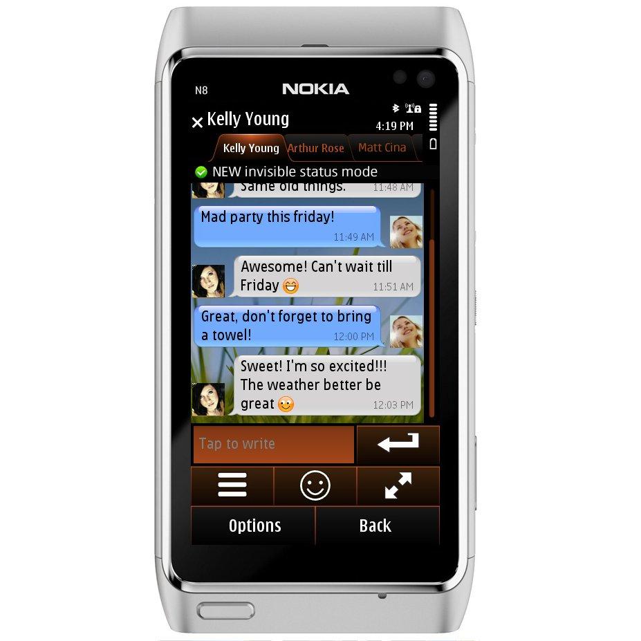 Nimbuzz 3.01 Now Available for Nokia Symbian Phones