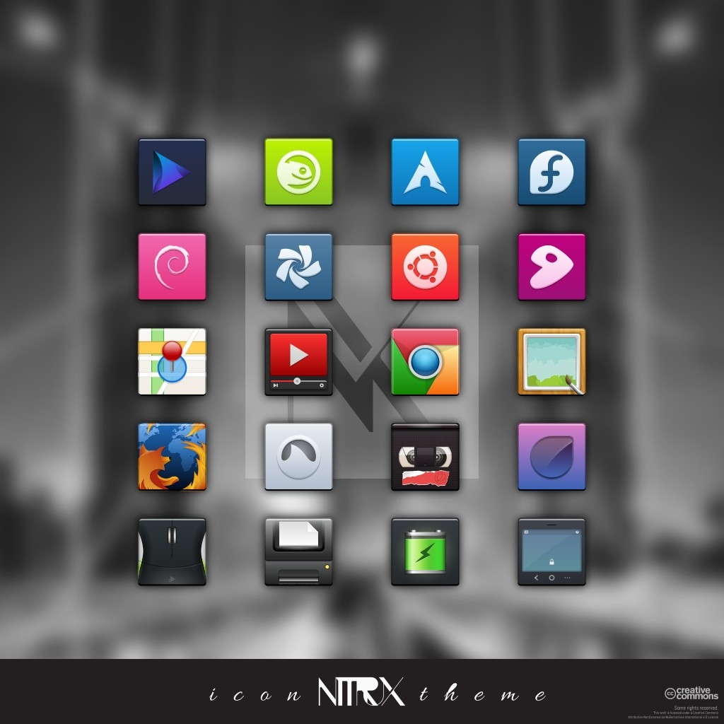 Nitrux OS Icons Features Superb Handcrafted Themes for Ubuntu, Linux