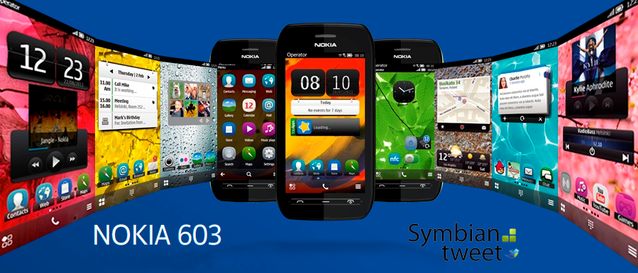 Nokia 603 Emerges with Symbian Belle