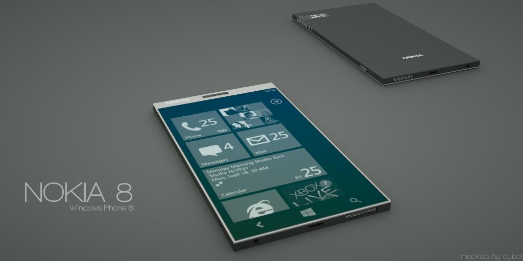 Nokia 8 Concept Phone