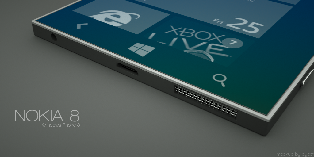 Nokia 8 Windows Phone Concept Is Incredibly Thin And Elegant