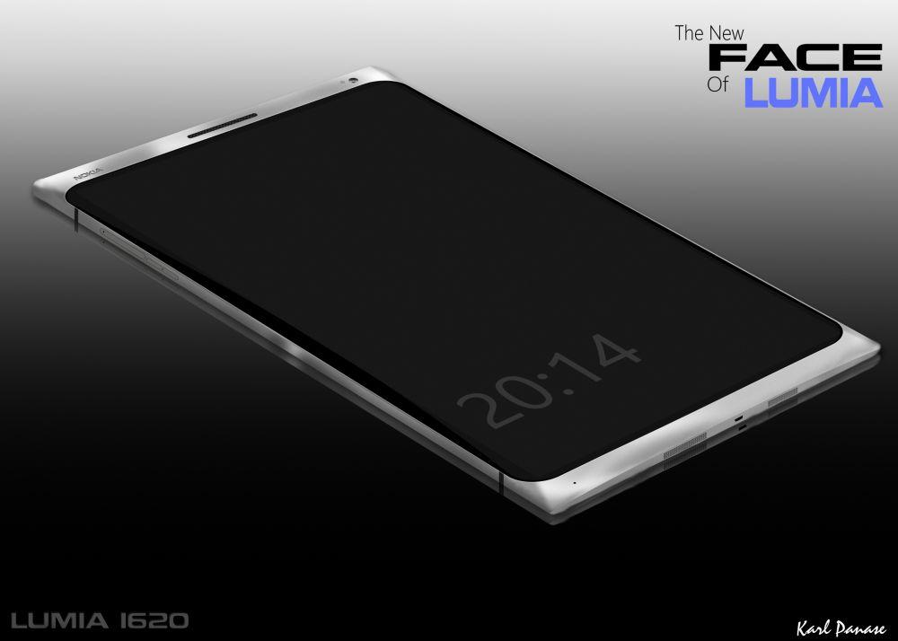 Nokia Lumia 1620 Concept Phone Sports 2K Screen, 3GB of RAM