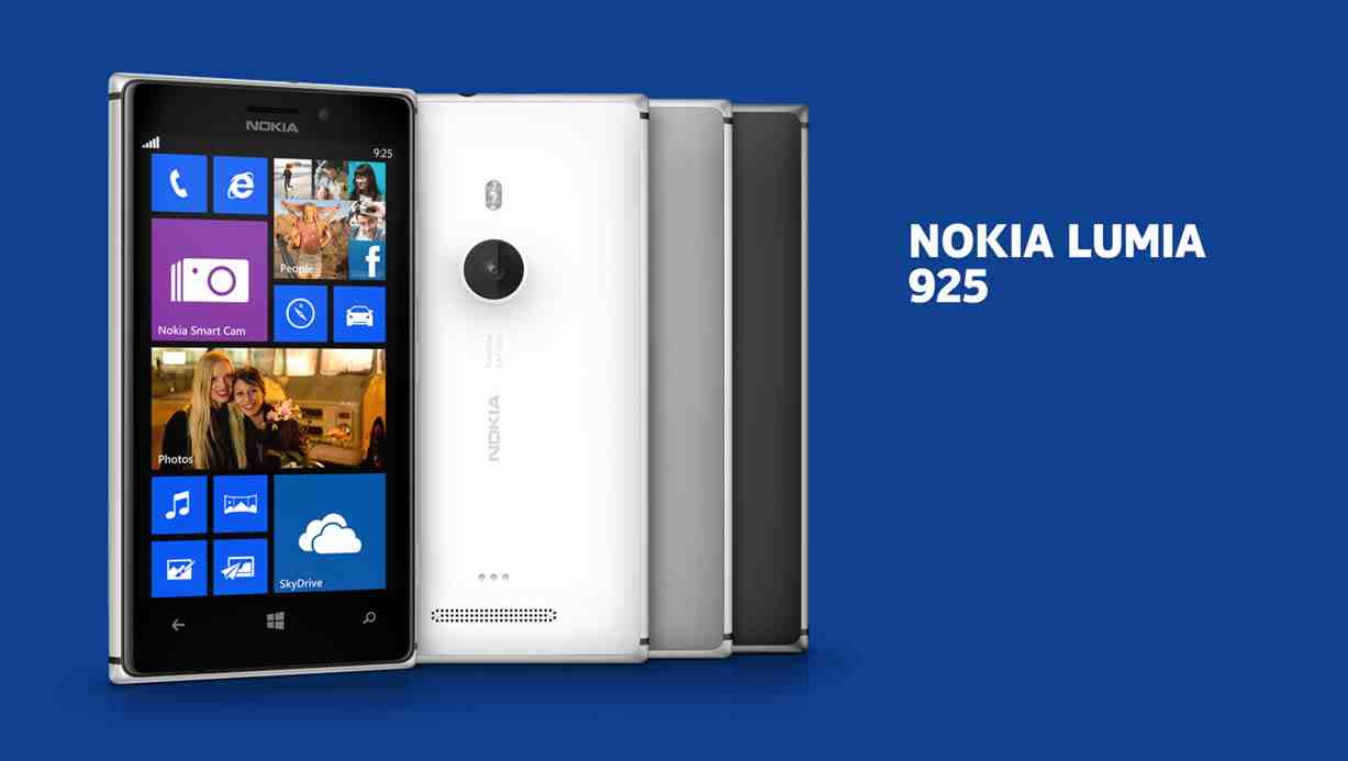Nokia Lumia 925 Goes Official Set To Land On Shelves In June Touchscreen 920