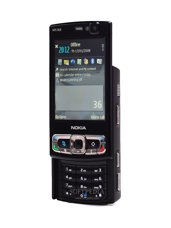 Presented 8gb Nokia Magically N95