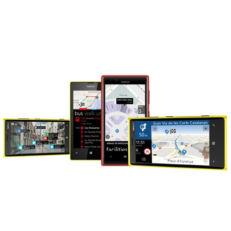 Nokia's Mapping and Navigation Services Become HERE