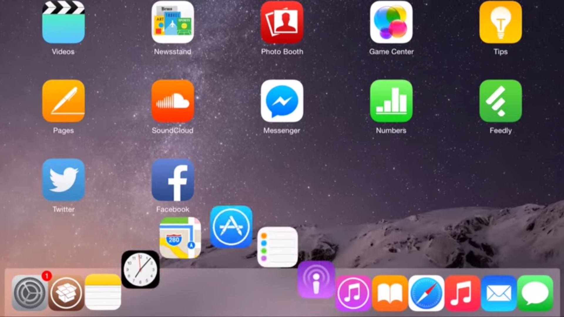 OS X Dock Comes to iOS 8 via Amazing Hack – Video