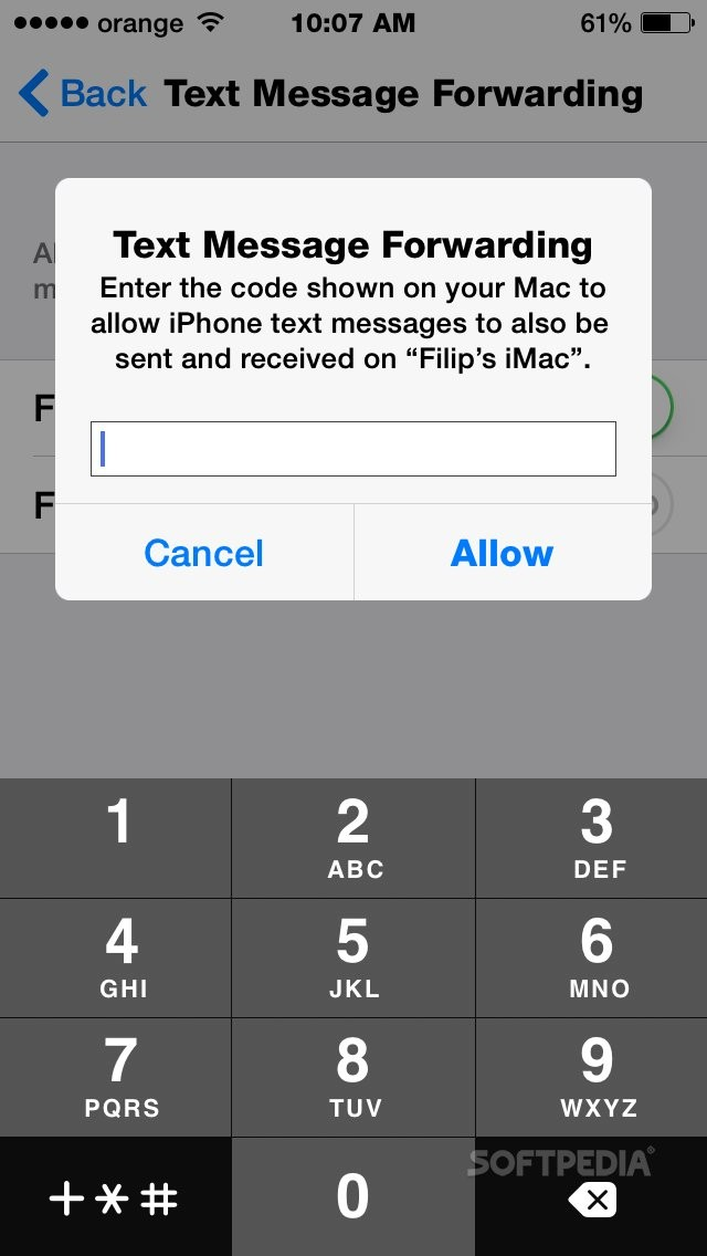 OS X Yosemite: How to Use Your Mac for SMS (Forwarding