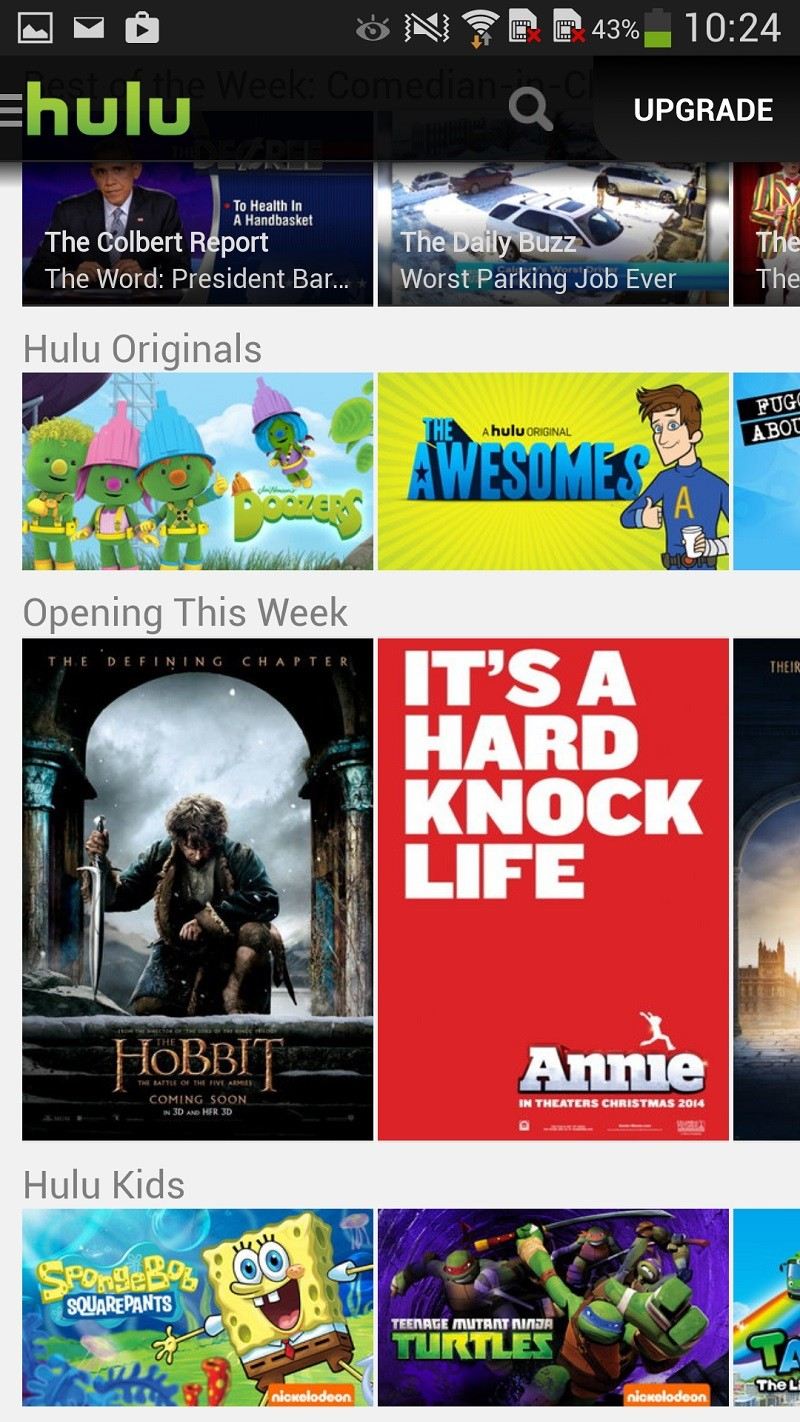 Only on Android: Hulu Offers Free Streaming for Some TV