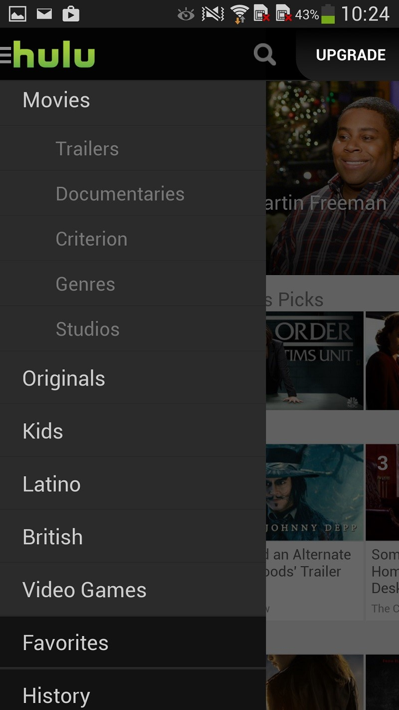 Allo Movies Streaming only on android: hulu offers free streaming for some tv
