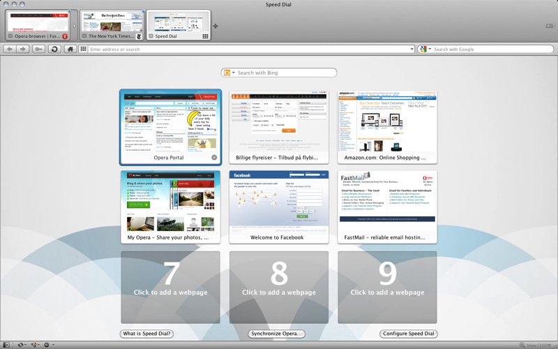 Opera Browser Hits the Mac App Store