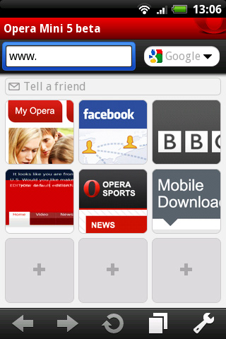 Opera Mini 5 Beta Released For Android