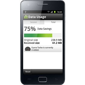 Opera Mini 6 5 Arrives on Android with Data Usage View