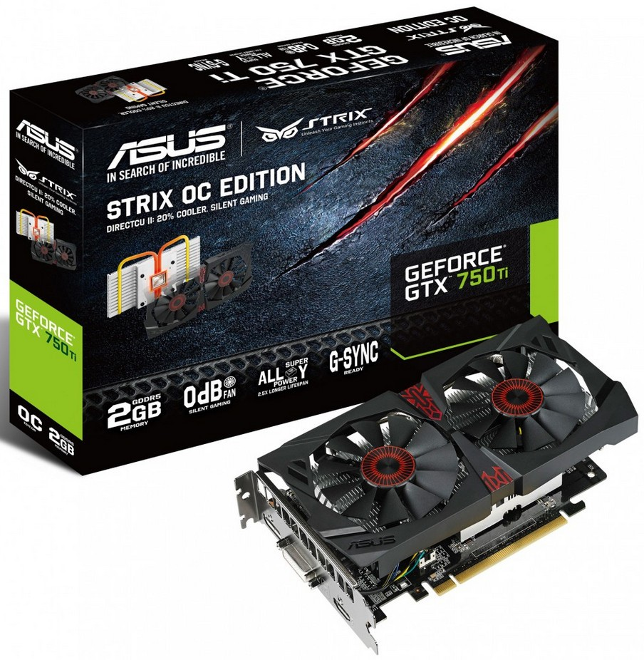 Overclocked ASUS NVIDIA GeForce GTX 750 Ti Won't Spin the