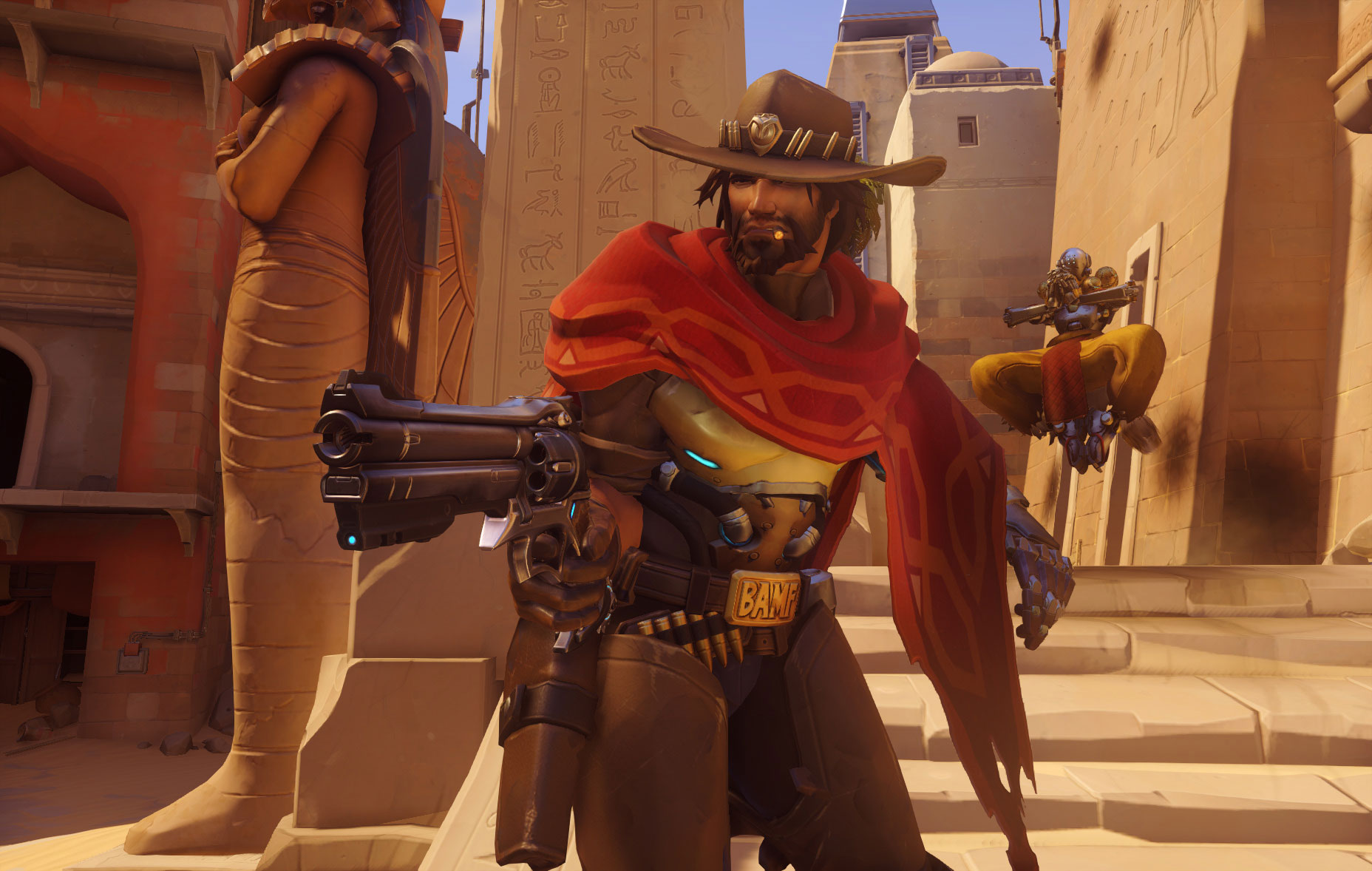 Aleksandra Overwatch overwatch reveals mccree and zarya, beta coming in the fall