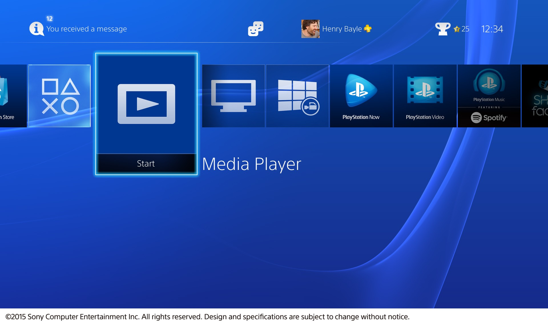 Ps4 media player app now available for download, supports mkv, avi.
