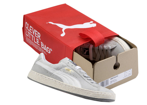 la mejor calidad para estilo novedoso verse bien zapatos venta PUMA Recycled Sneakers Introduced, Come in Clever Little Bag Packaging