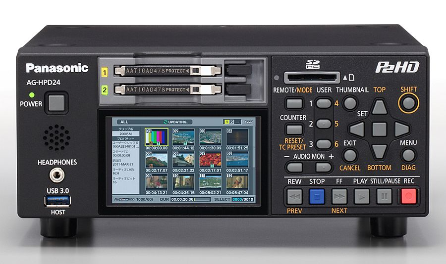 Panasonic AG-HPD24 Deck Drivers for Mac Download