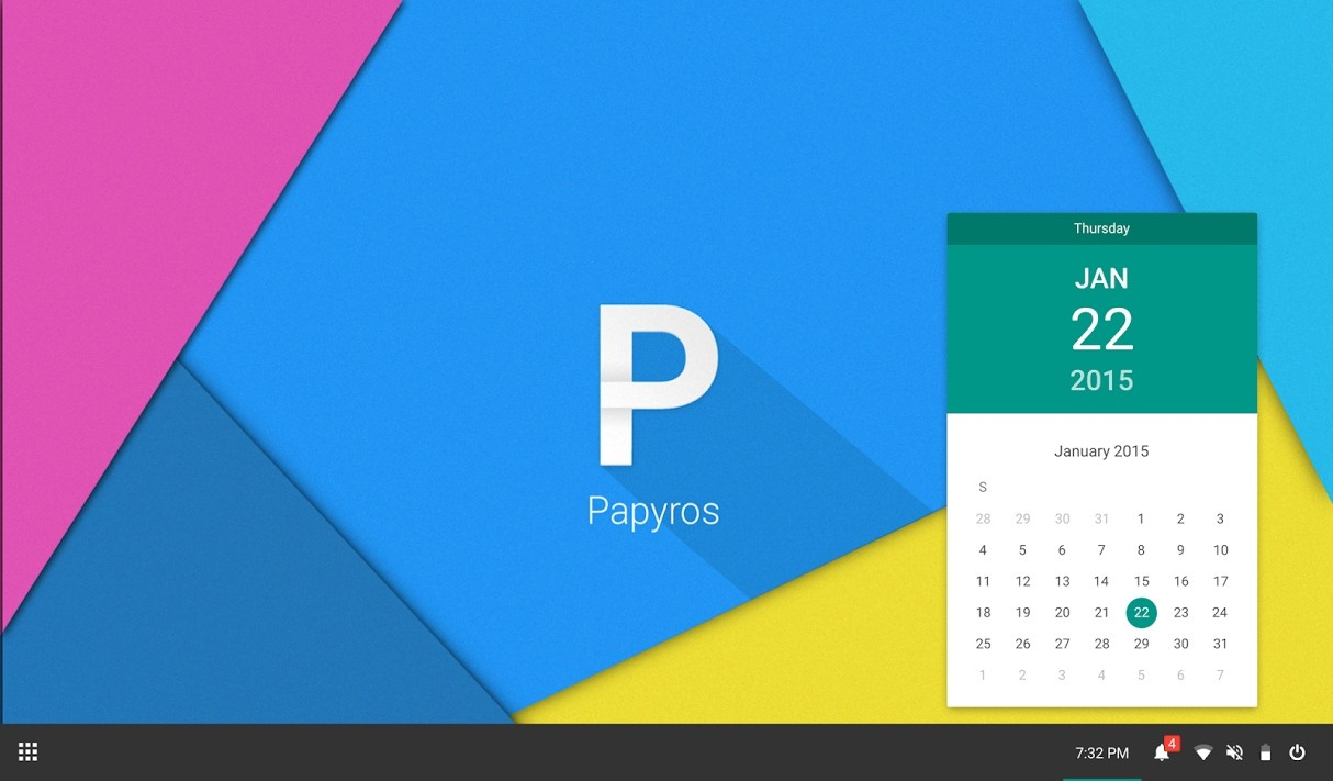 Papyros Is a Linux OS That Follows Google's Material ...