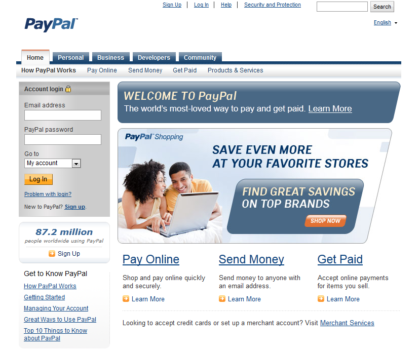 Pay Pal Spam