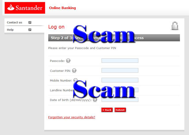 Phishing Emails Lure Santander Customers with Software Update Notice