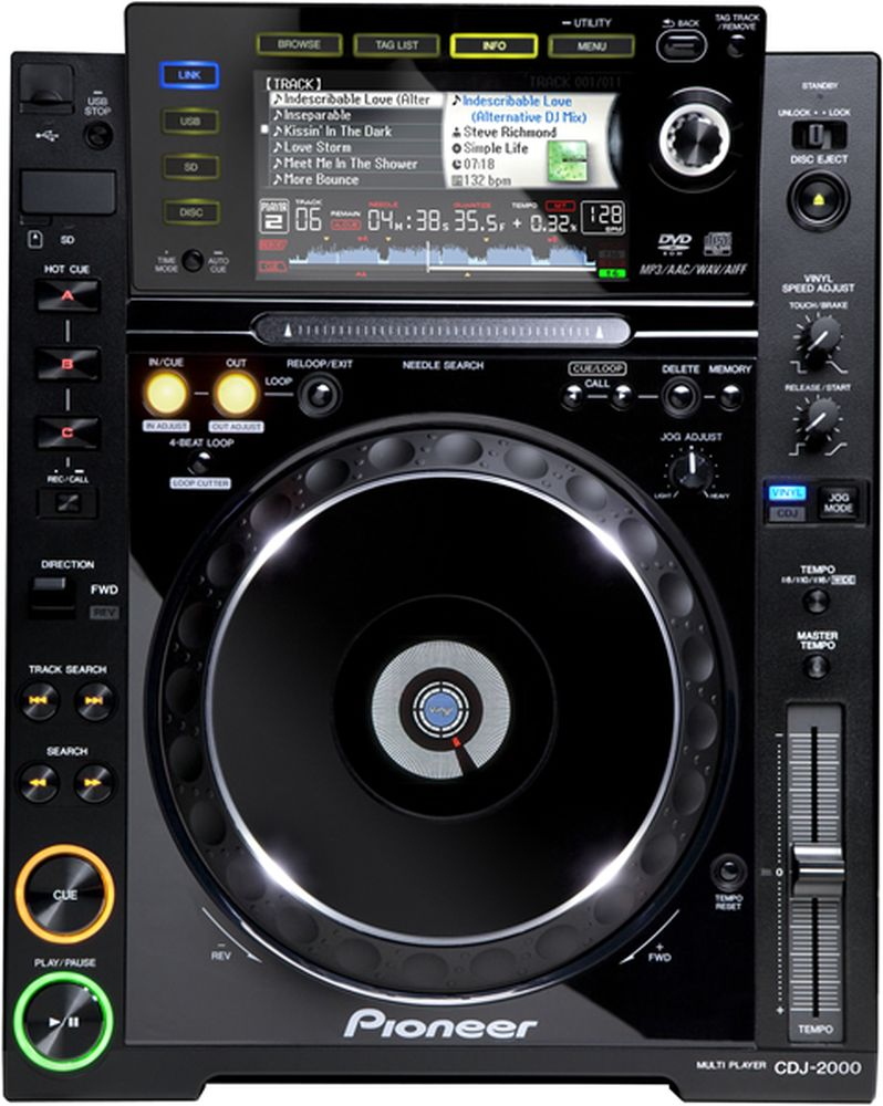 Pioneer CDJ-2000 Models Receive Firmware Update - Version 4 33