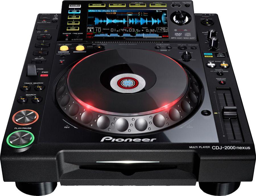 Pioneer CDJ-2000 DJ Controller Descargar Controlador