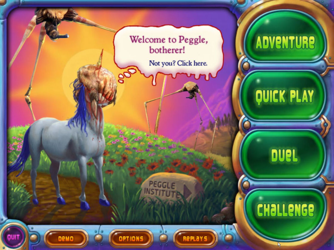 PopCap Presents Peggle for the Nintendo DS