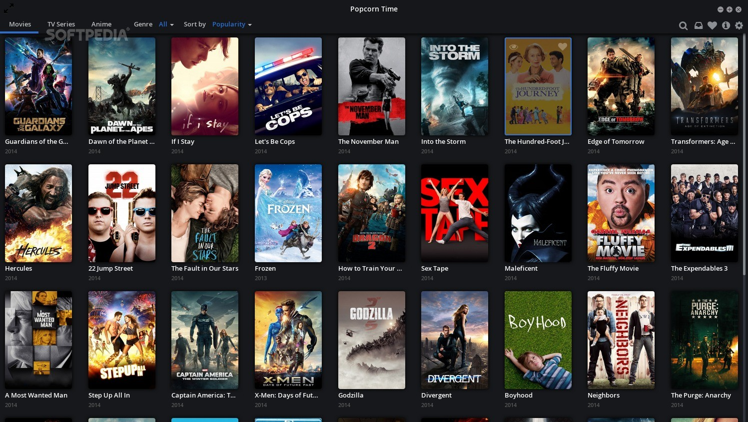 movies & tv shows app