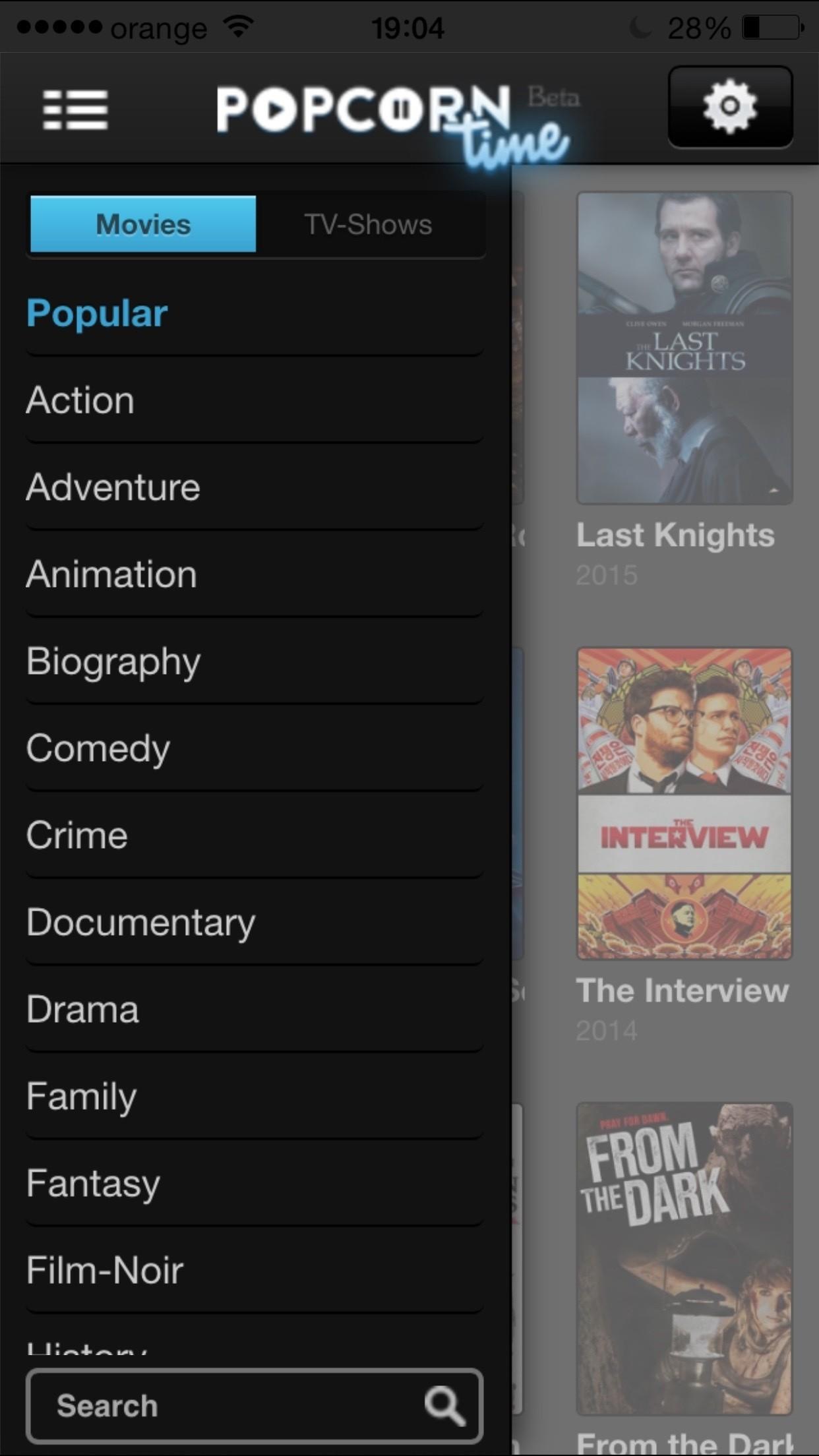 free movies ipad app