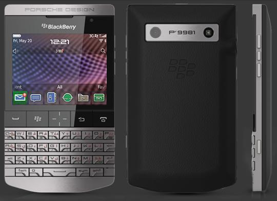 Porsche Design P'9981 BlackBerry Available for Pre-Order in the US