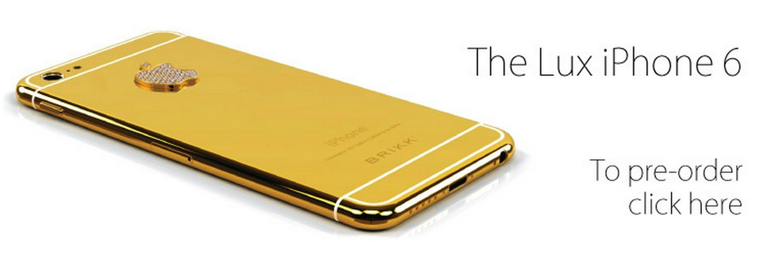 promo code 05d38 b83e1 Pre-Order Your iPhone 6 in Pink Gold with Diamonds for $8,395 ...