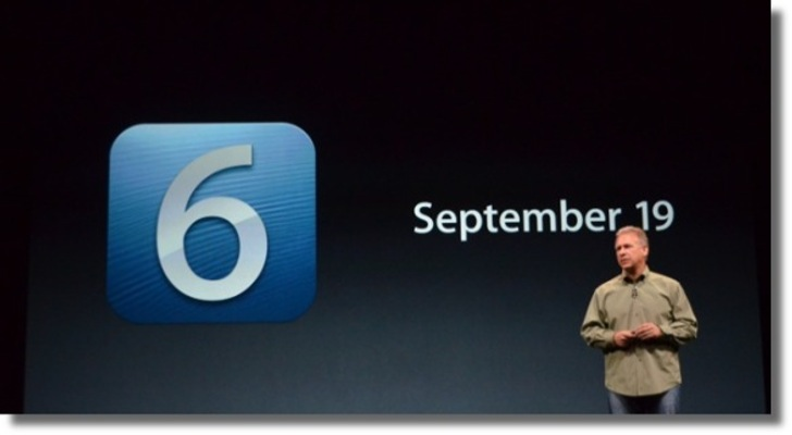 Prepare to Download iOS 6