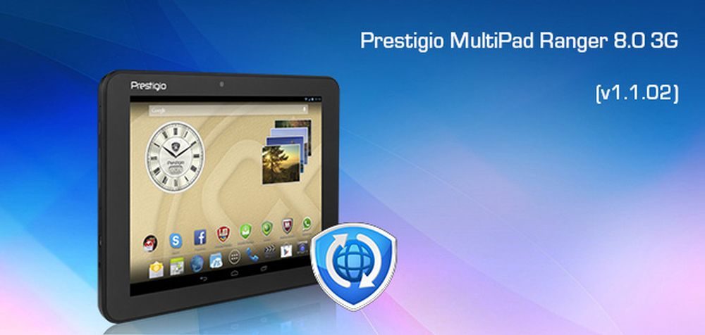 Download Driver: Prestigio MultiPad Ranger 8.0 3G Tablet