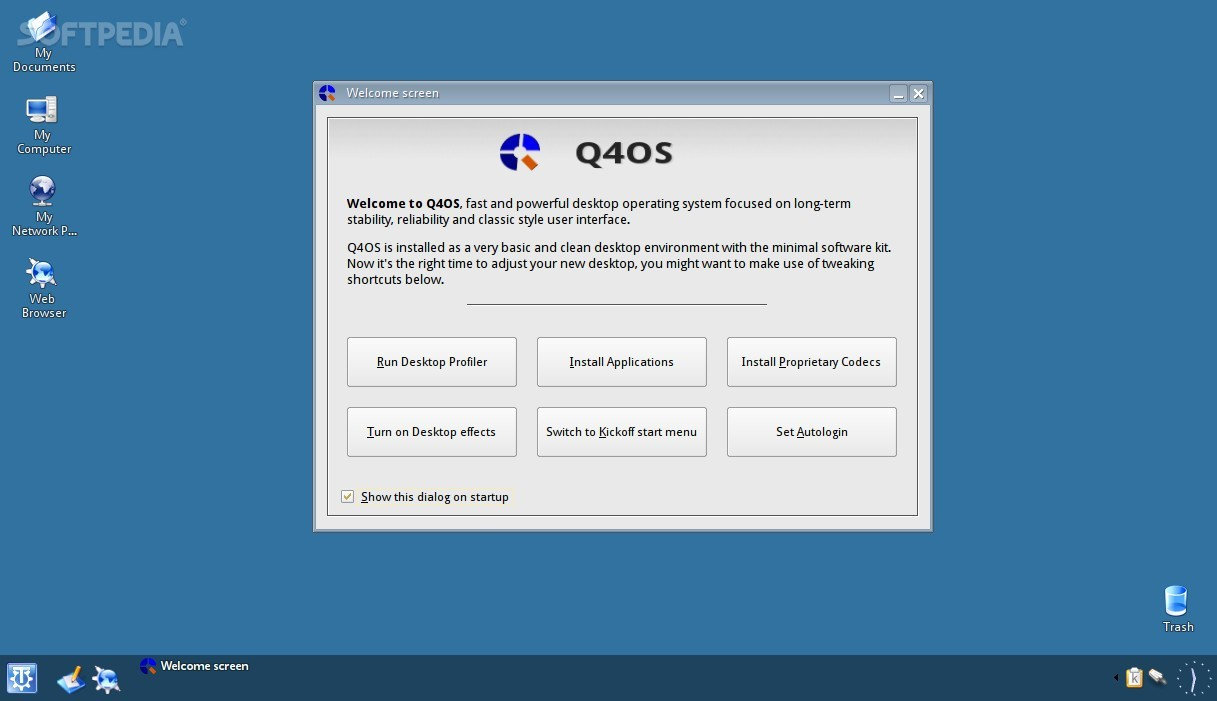Q4OS Linux Distro Will Allow Users to Purchase Apps via New