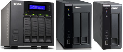 QNAP Debuts Three New NAS Devices Powered by Marvell CPUs