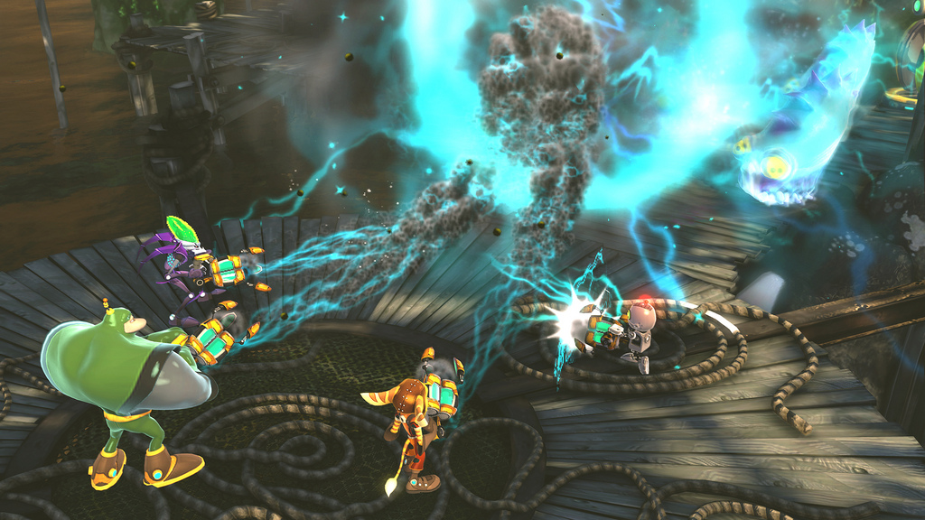 Ratchet Clank All 4 One Receives New Video And Screenshots