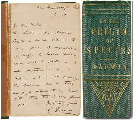 First Edition Of The Origin Species
