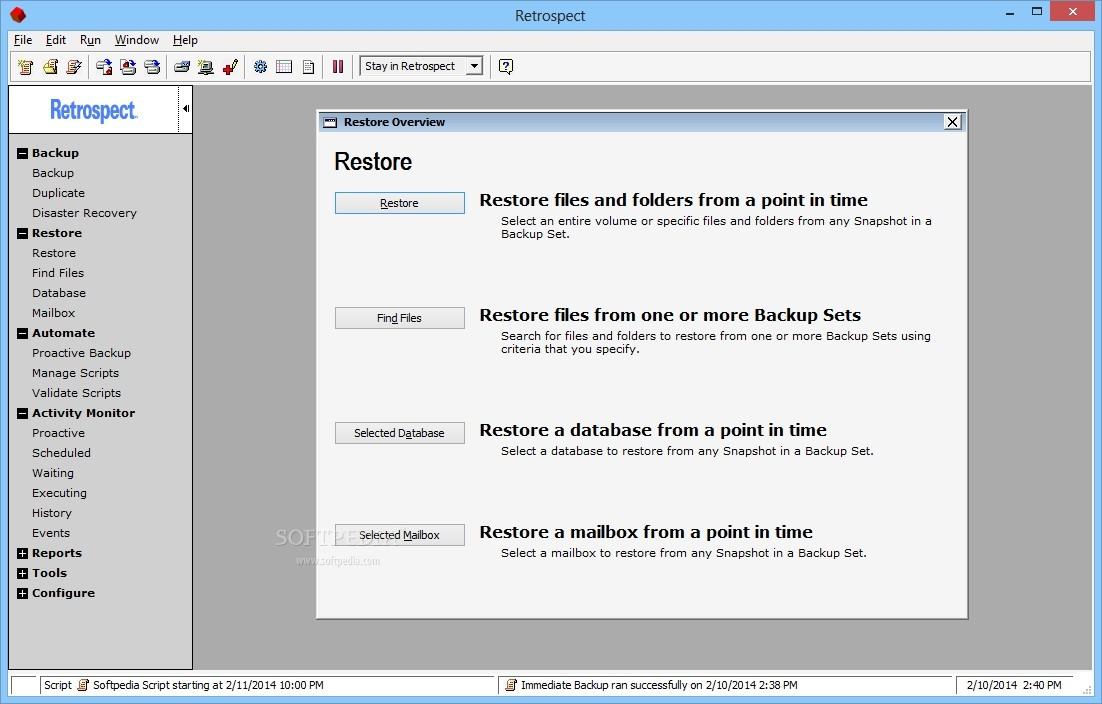 the retrospect haci saecsa co rh haci saecsa co User Manual Online User Guide