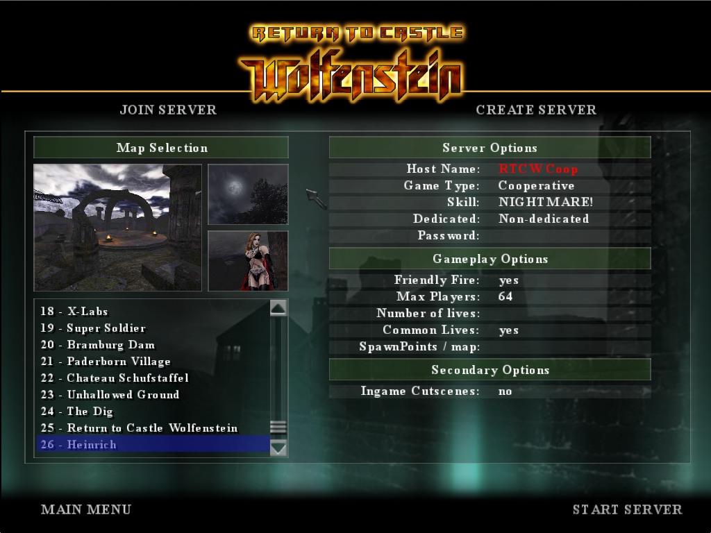 Return To Castle Wolfenstein Coop Receives Scoreboard Update