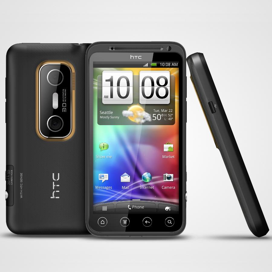 rogers announces evo 3d and optimus 3d for the summer rh news softpedia com HTC EVO 4G White HTC EVO 4G Accessories
