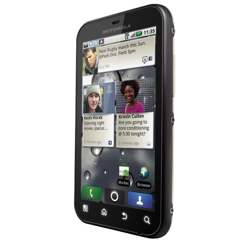 Motorola Defy With Motoblur