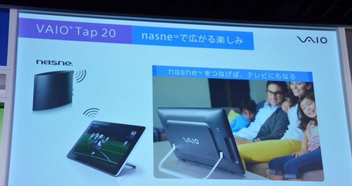 SONY VAIO Tap 20 Home Tablet Officially Announced