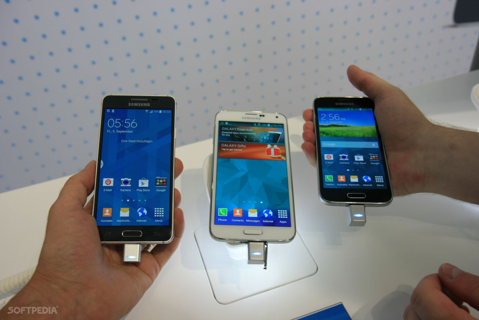 Galaxy Alpha Vs S5 samsung galaxy alpha looks nice, but is it too iphone 5s