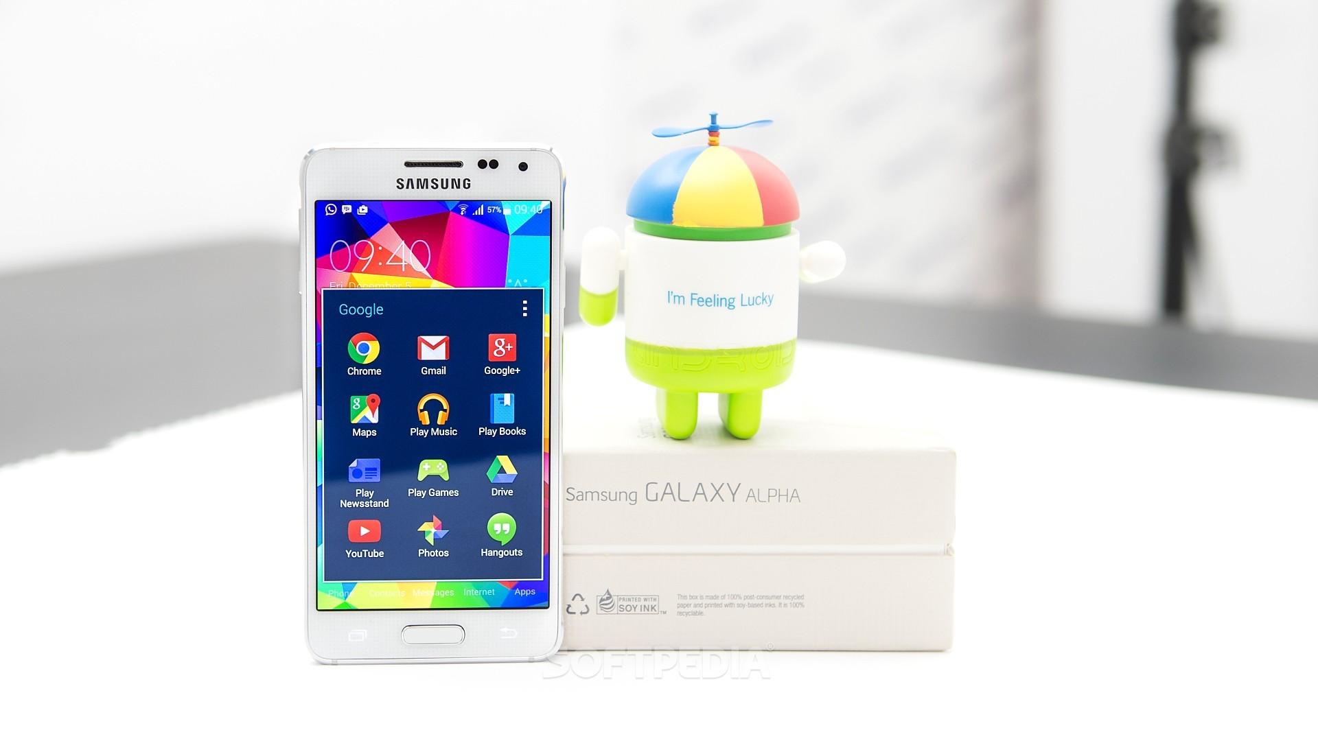 Samsung Galaxy Alpha Receiving Android 50 Lollipop Update At ATT