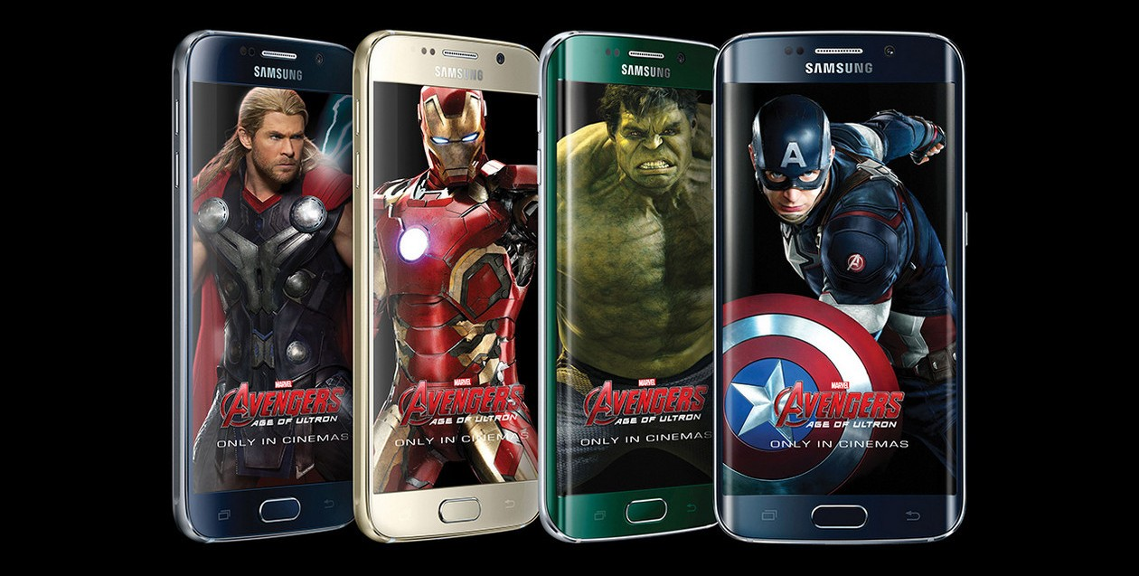 Samsung launches galaxy s6 edge iron man limited edition | wiregadget.