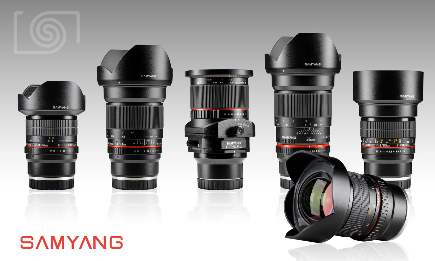 Samyang Releases 5 New Full-Frame Lenses for Sony E-Mount