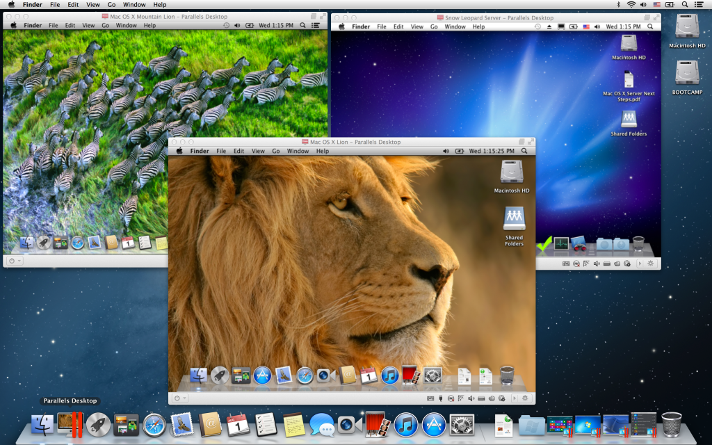 Updating parallels 7 for mountain lion