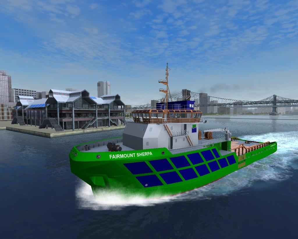 Ship simulator fan site.