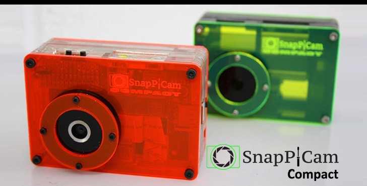SnapPiCam Is a Raspberry Pi Camera with Interchangeable Lens